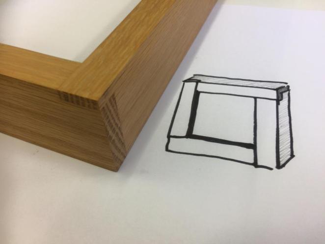 lightbox corner detail